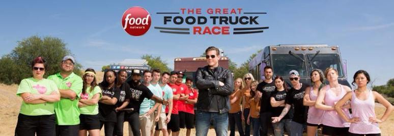 The Great Food Truck Race Banner - Food Network