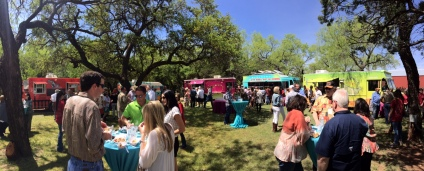 Buffalo Gap Food and Wine Summit Catering Panoramic